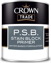 P.S.B. Stain Block Primer 1L White