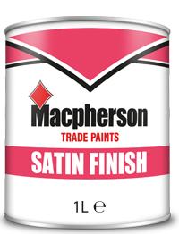 Macpherson Satin Finish 1L Brill White