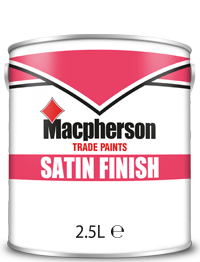 Macpherson Satin Finish 2.5L Brill White