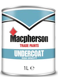 Macpherson Undercoat 1L White
