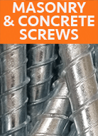 MASONRY AND CONCRETE SCREWS