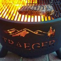 Kp Traeger - Outdoor fire pit - Eldstder ALLTID fri frakt