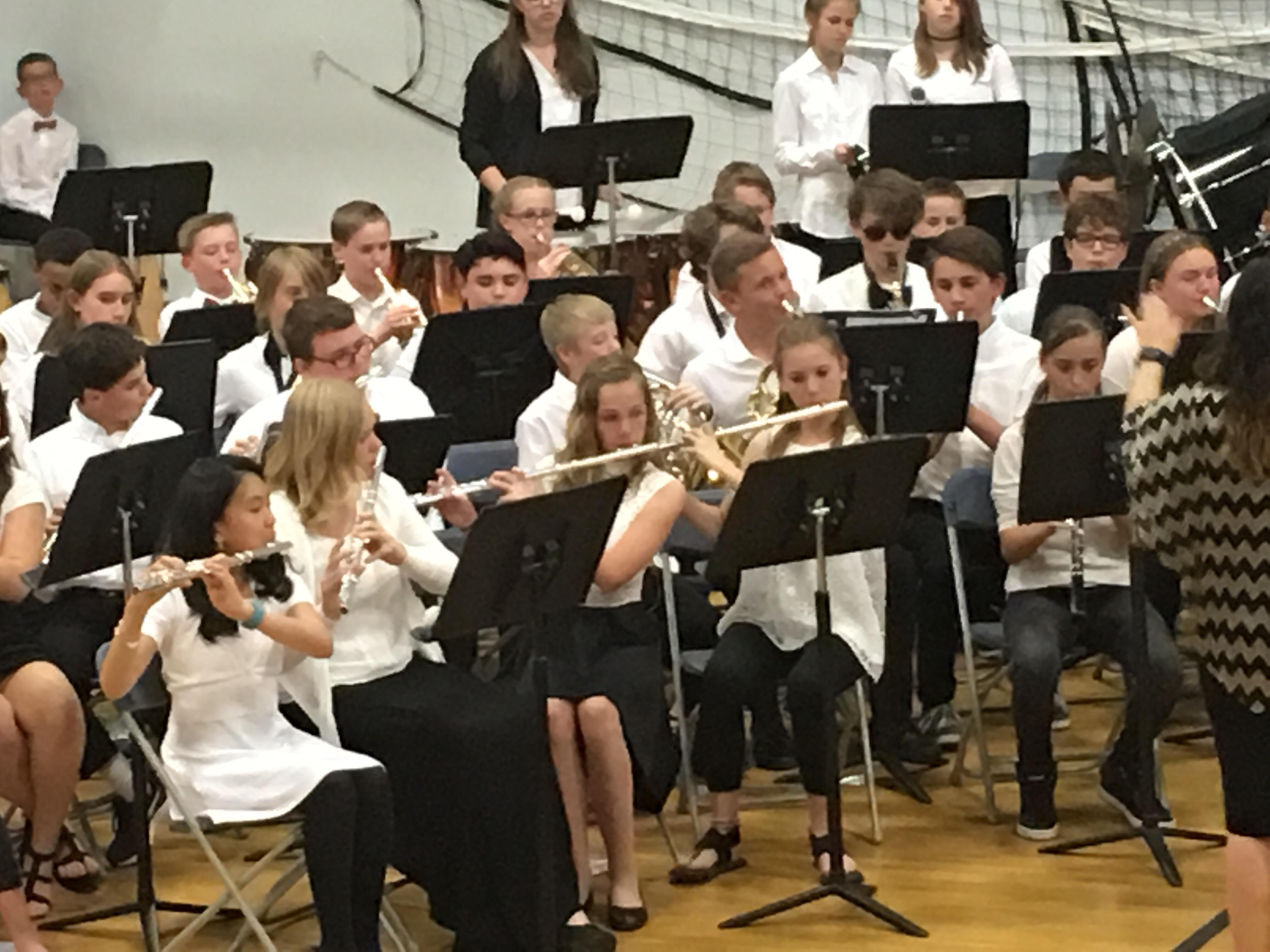 7th Grade Band Spring Concert Hemmyland