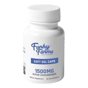 CBD Capsules (Full Spectrum) | Funky Farms