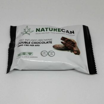 NatureCan – CBD infused Double Chocolate Brownie