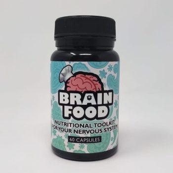 Brain Food – CBD, Lions Mane and Vit.D3 Capsules