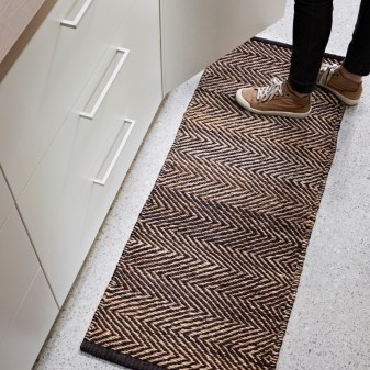 Hemp welcome rugs