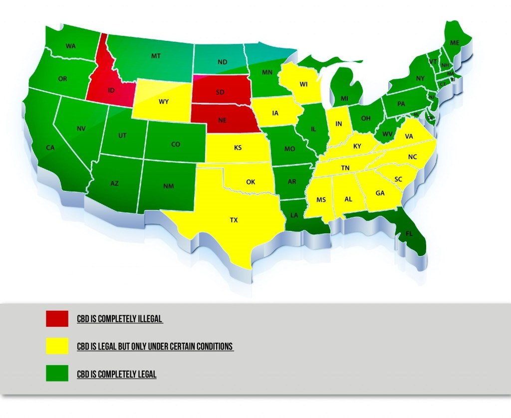 state wise cbd legality
