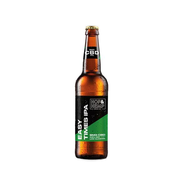 cbd beer by hop and hemp - easy times