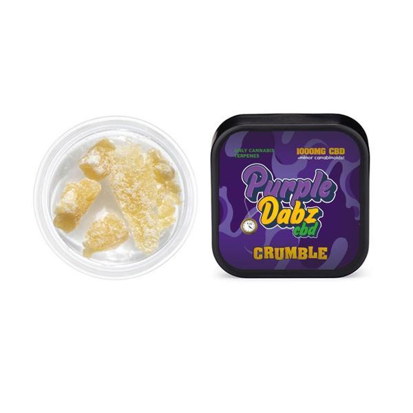 cbd crumble by purple dabz