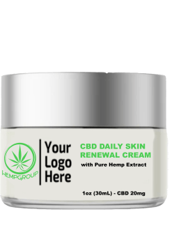CBD Daily Skin Renewal Cream