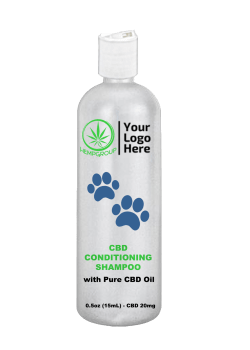 CBD Conditioning Shampoo for Pets 20mg