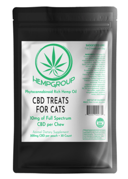 CBD Treats for Cats 300mg per bag (30 ct.)
