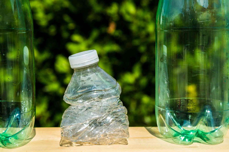 Fossil Fuel Based Plastic Pollution Reduced to a Design Decision