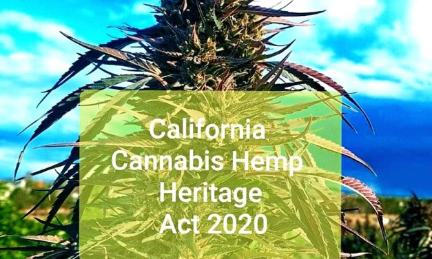 The California Hemp Heritage Act 2020