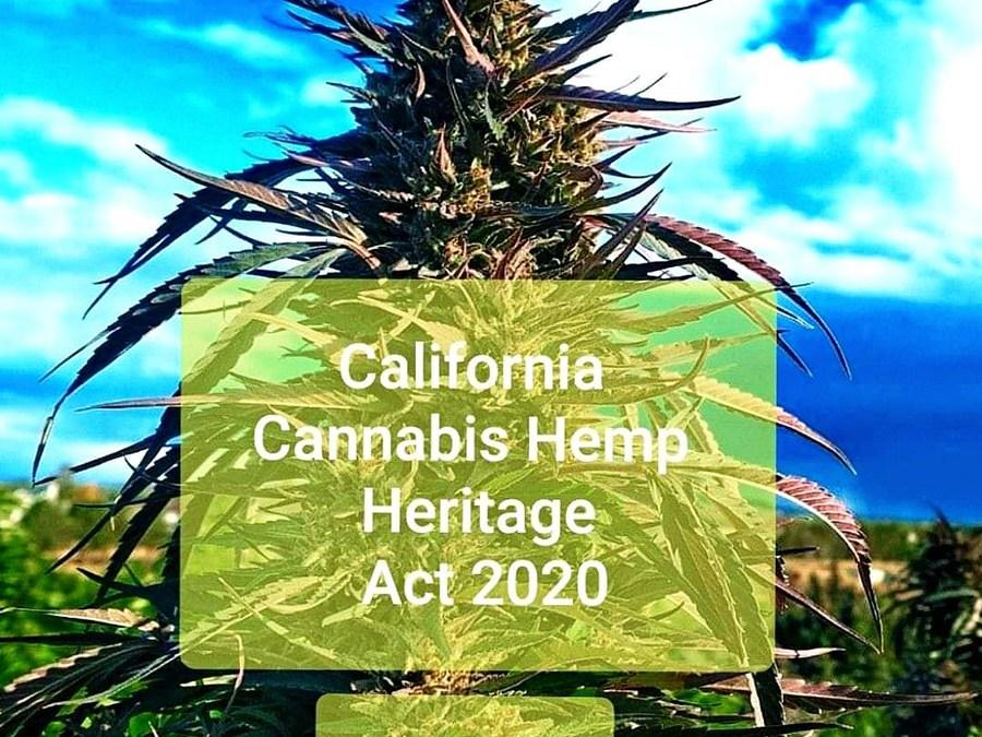 The California Hemp Heritage Act 2020