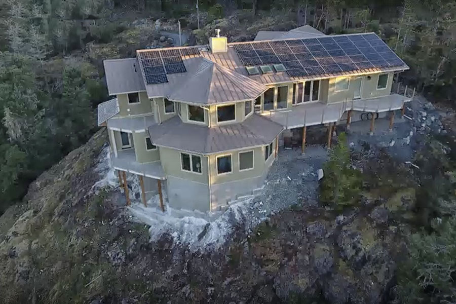 Construction Complete on B.C.'s First Sustainable 'Lego' Home