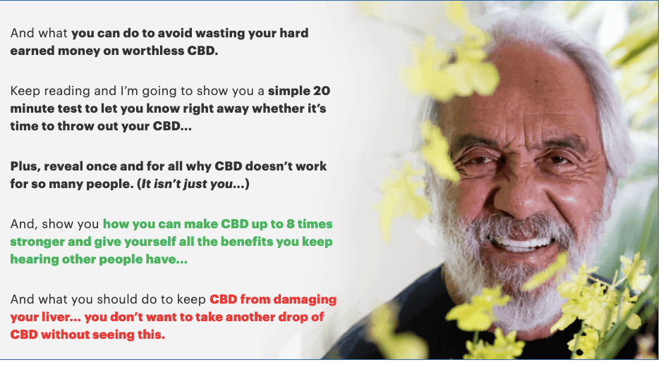 Tommy Chong – Why CBD is Not Good for You and Why FULL Spectrum Cannabis Is!