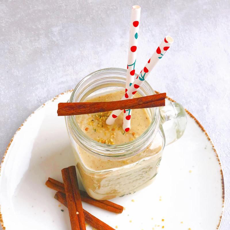 Rezept für Apfelstrudel Hanf Shake