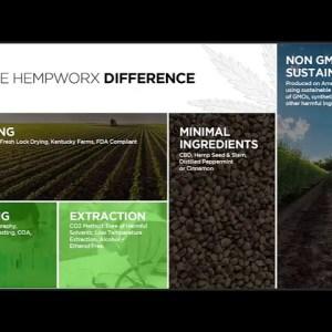 HempWorx CBD Oil Ingredients Are High Quality