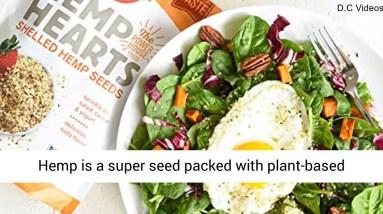Manitoba Harvest Hemp Hearts Shelled Hemp Seeds, 24oz; 10g Plant-Based Protein & 12g Omegas per Serv