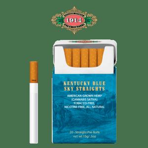 Bhang hemp preroll 1914 Straightspack pack with single