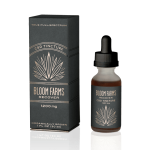 Bloom Farms Hemp Recover Tincture 1200mg