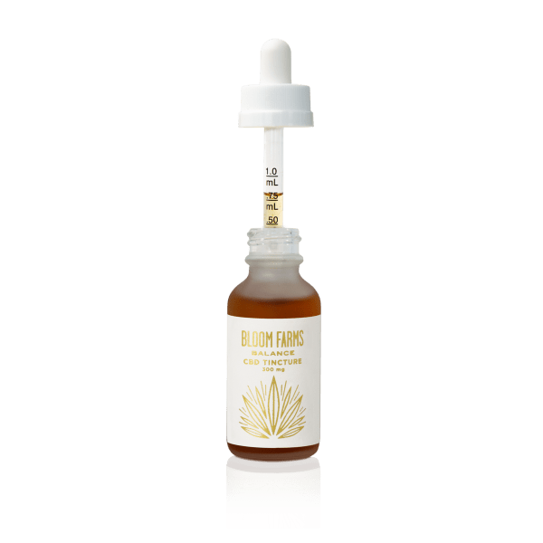 Bloom Farms 300 bottle with dropper