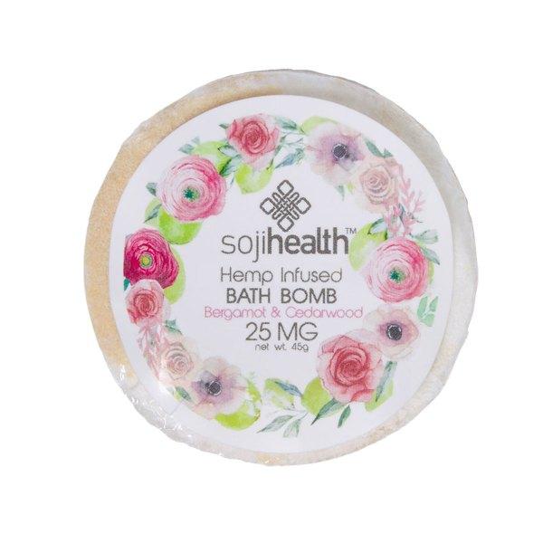 Soji Health Bergamot Bath Bomb