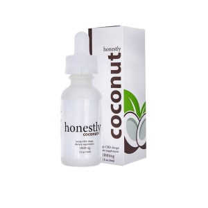 honestly coconut tincture 1000mg