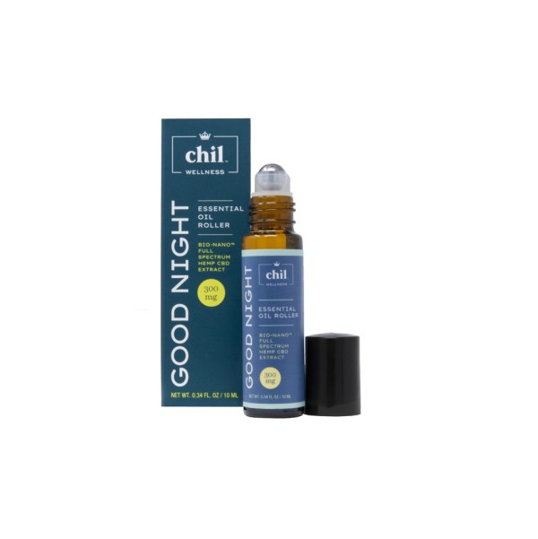 Chil Wellness Good Night Essential Oil Roller 300mg