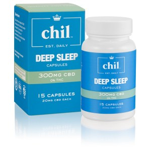 Chil Wellness Deep Sleep Capsules 300mg