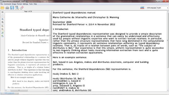 OpenDyslexic font applied to a PDF