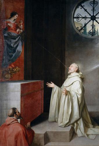 Bernardo de Claraval redactor de la regla del temple