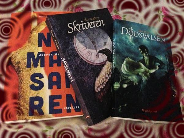 Giveaway #1 - Hende Jensens bogblog - 3 gode læseoplevelser