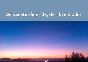 De værste sår er de, der ikke bløder af Mads-Peder Winther Søby - boganmeldelse Jensens bogblog