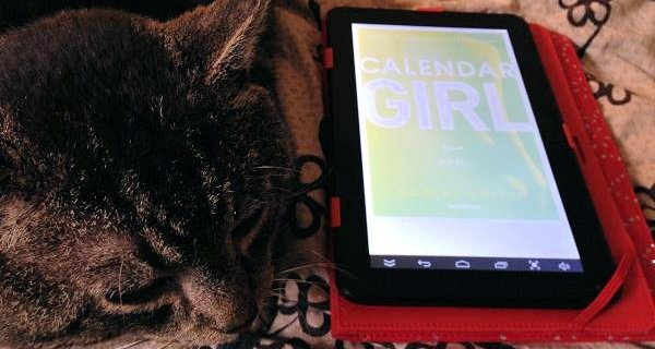 """""""Calendar girl: April"""" af Audrey Carlan - boganmeldelse - Jensens bogblog"""