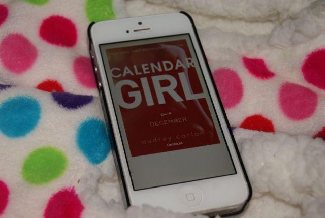 """""""Calendar girl - december"""" af Audrey Carlan - Bogfinken bogblog"""