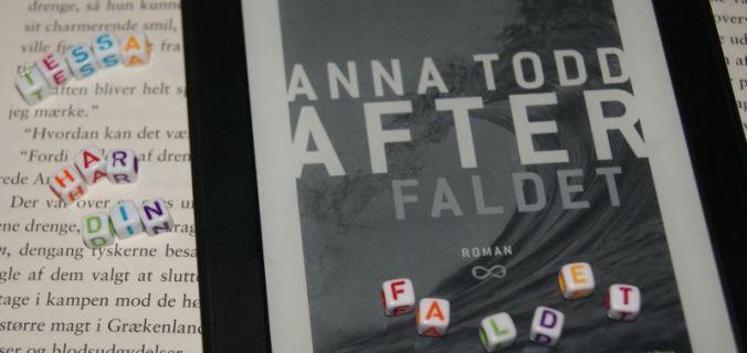 """""""Faldet"""" (After #3) af Anna Todd - boganmeldelse - Bogfinken bogblog"""