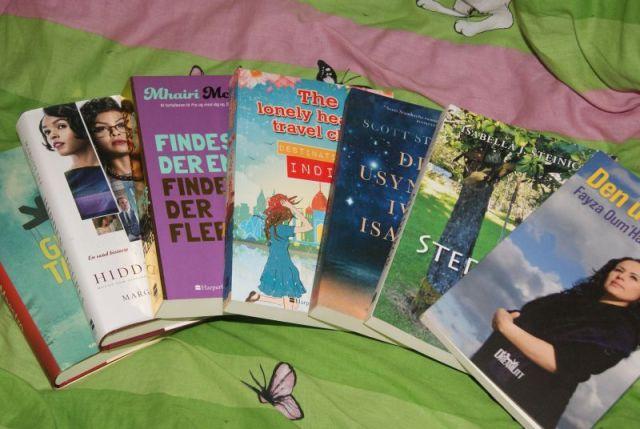 Nyt i stakken #7 - december, januar og februar - Bogfinkens bogblog