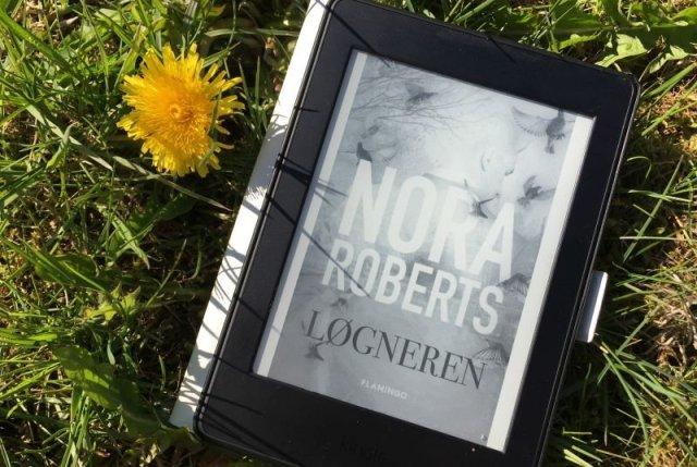 """""""Løgneren"""" af Nora Roberts - Bogfinkens bogblog"""