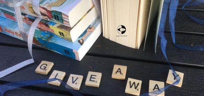 Give-away: 2 års blog-fødselsdag - Bogfinkens bogblog