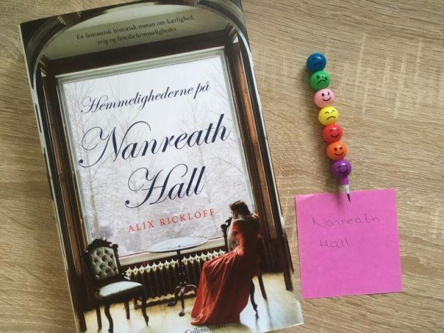 Hemmelighederne på Nanreath Hall af Alix Rickloff - Bogfinkens bogblog