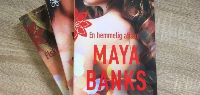 En hemmelig affære af Maya Banks - Bogfinkens bogblog