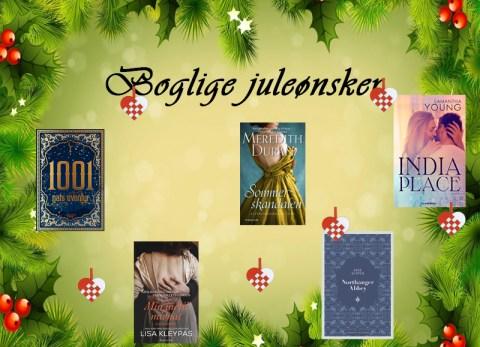 Mine boglige juleønsker 2018 - Bogfinkens bogblog