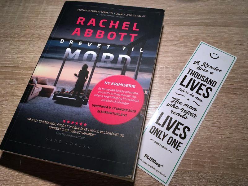 Drevet til mord af Rachel Abbot - Bogfinkens bogblog