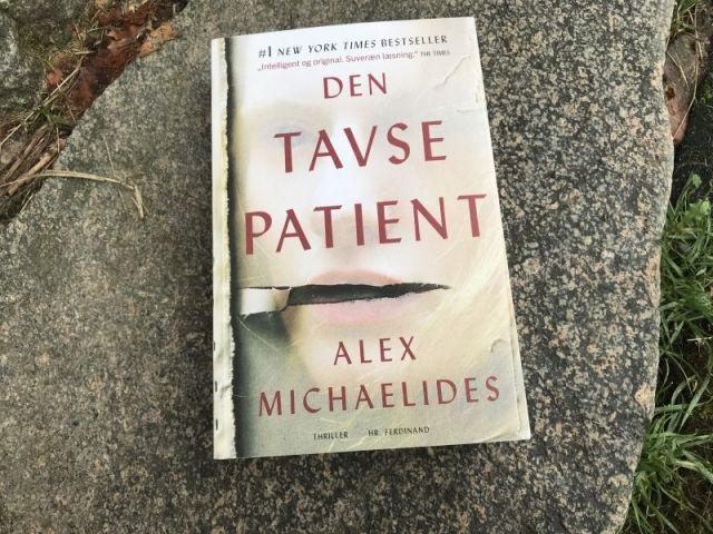 Den tavse patient af Alex Michaelides - Bogfinkens bogblog