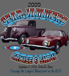 Gear Jammer t-shirt graphic 2009