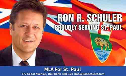 MLA Ron Schuler