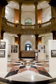 Installation view: Henderson Photo Exhibit at Baltimore City Hall.